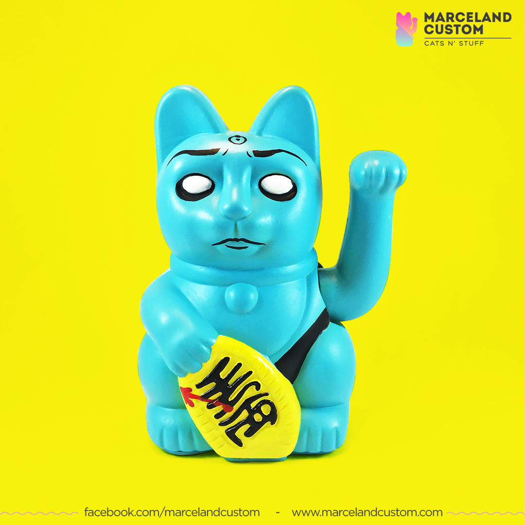 Maneki Dr. Manhattan de Watchmen
