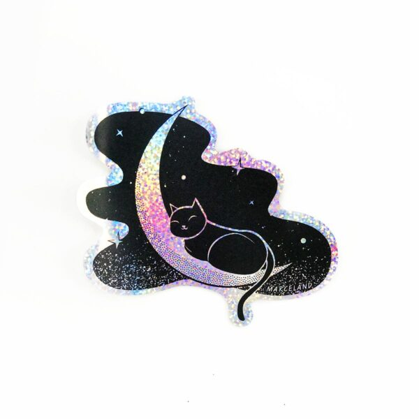 Moonlight sticker holográfico