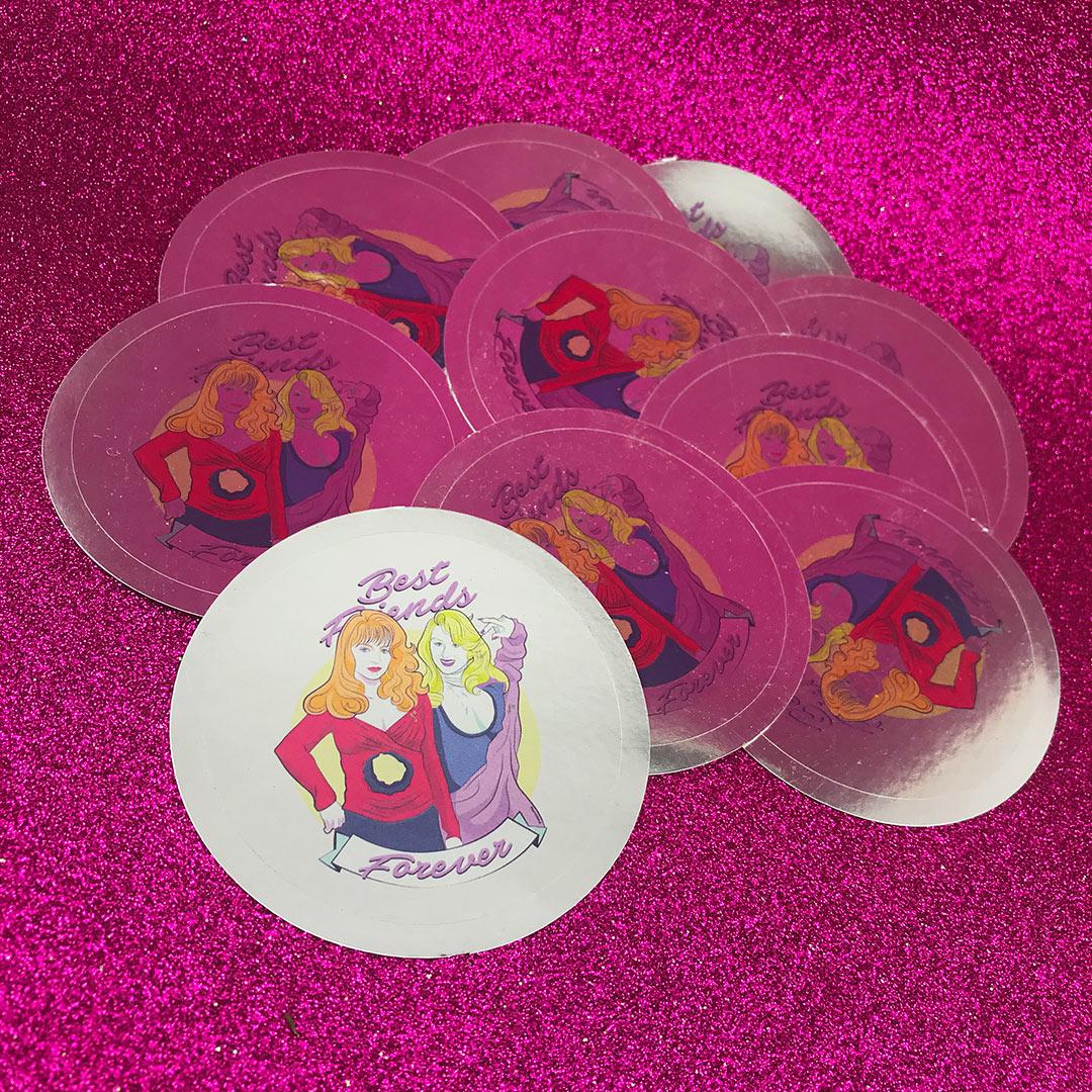 BFF stickers